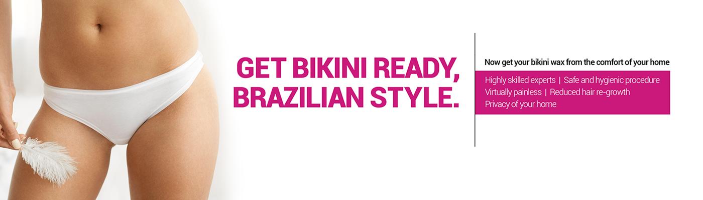 Wifes brazillian bikini wax at home fucking tight young